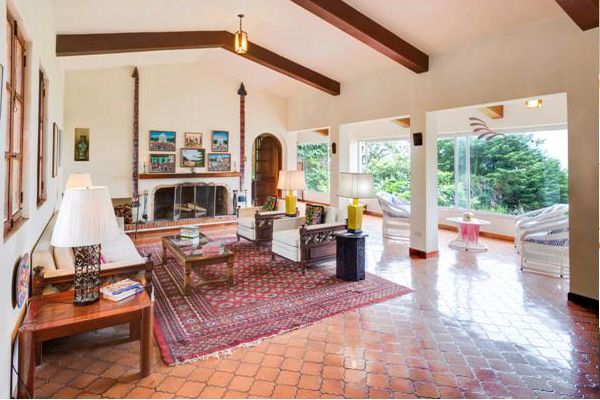 San Ramon de Tres Rios, 6200-ft2 House, 5 BRs, View, on Nearly 1 Acre