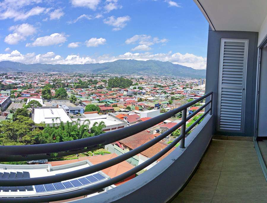 New Apartment for Sale on 13th Floor of Tower Latitud Los Yoses