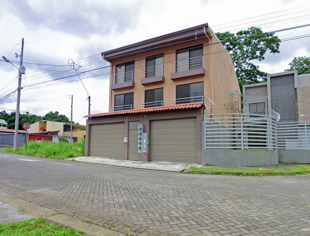 New Apartment Building with 4 Units for Sale in Gated Community, Curridabat