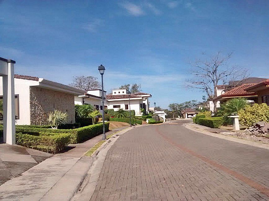 Flat 600-m2 Building Lot for Sale in Gated Community, Piedades, Santa Ana
