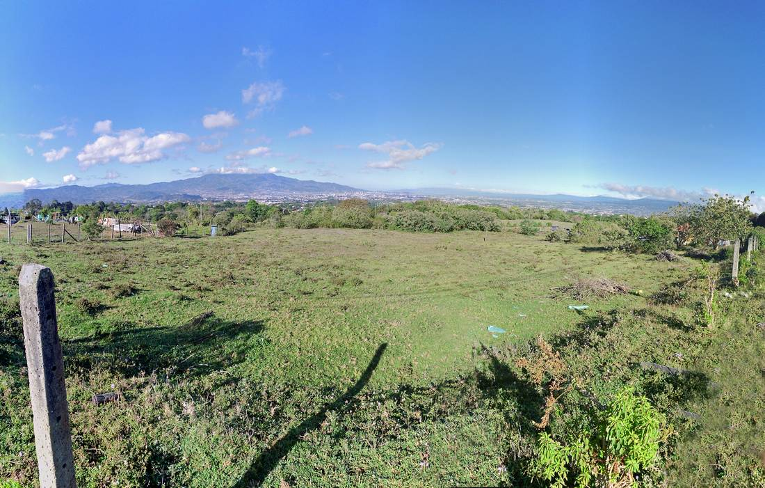 San Ramon de Tres Rios, 2 Adjoining Half-Acre Lots for Sale, Spectacular View