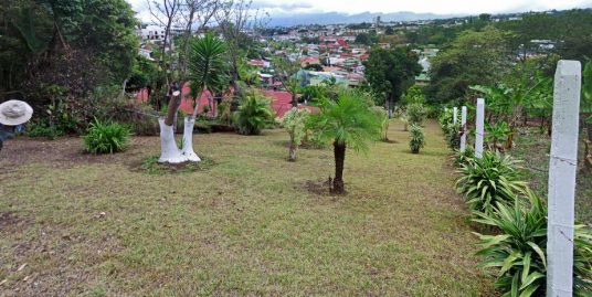 REDUCED! 807-m2 Building Lot with View in Safe Neighborhood, La Colina, Curridabat