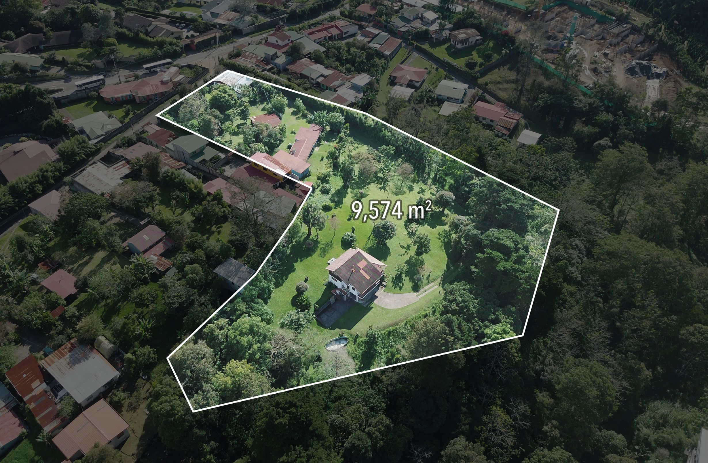 2.5-Acre Property for Sale, Ideal for Condo Development, San Rafael, Montes de Oca