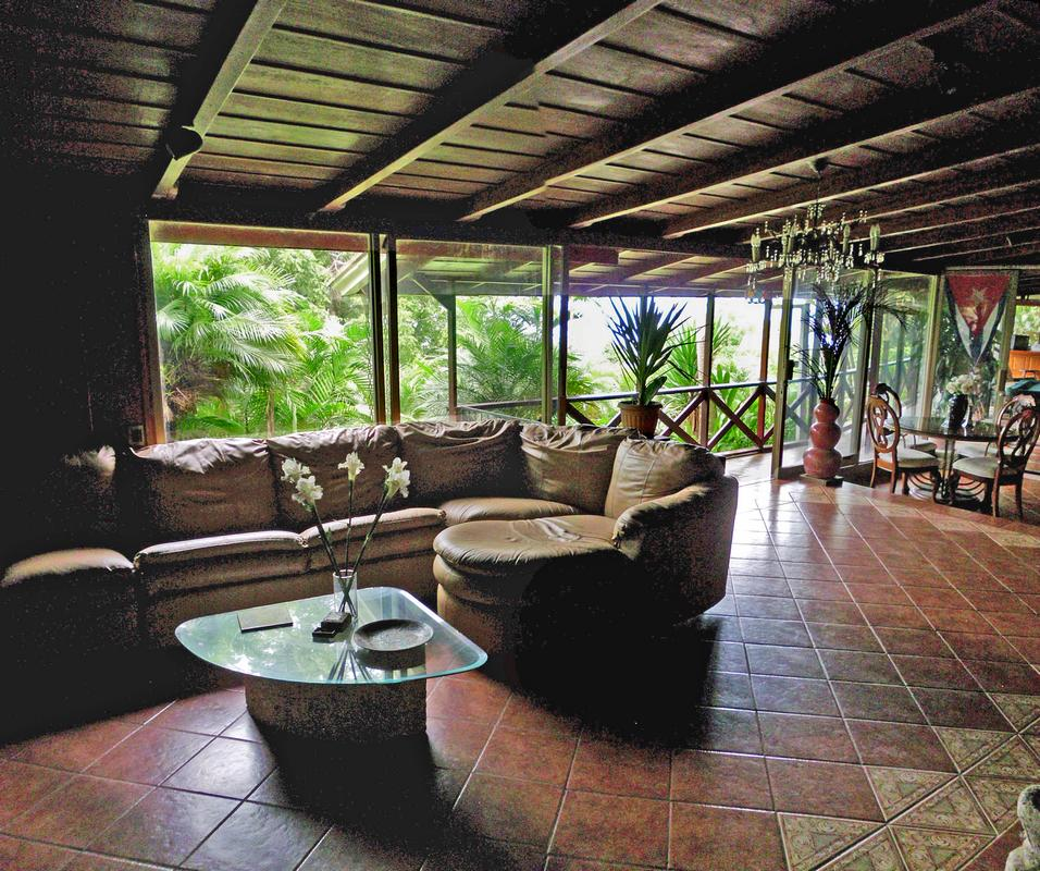 San Ramon de Tres Rios, Villa for Sale, Main House, 3 Apartments, Half Acre
