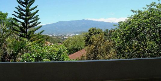 Townhouse with Spectacular View for Rent, Condo Macerata, Escazu