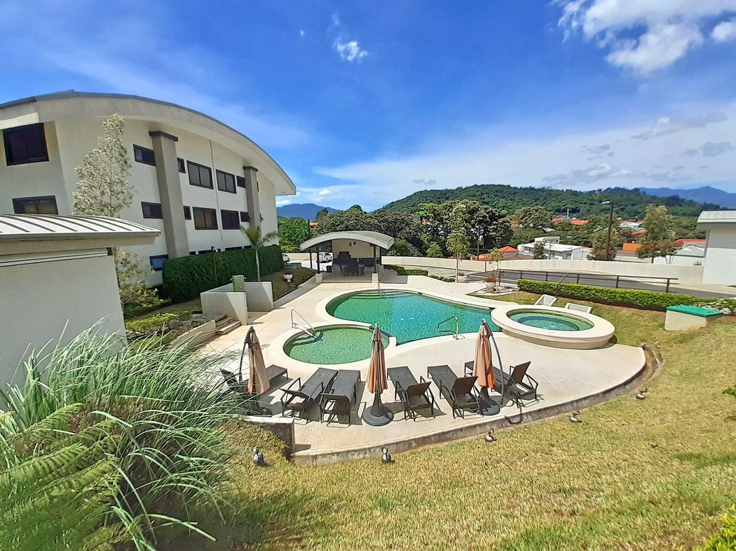 One-BR Apartment for Sale in Upscale Gated Community Vila del Este, Curridabat