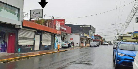 7900-ft2 Commercial Lot for Sale, 1st Avenue, Downtown Cartago