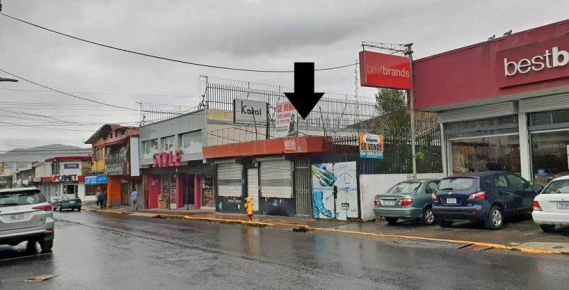 Venta de Lote Comercial de 731 m2, Calle del Comercio, Cartago Centro