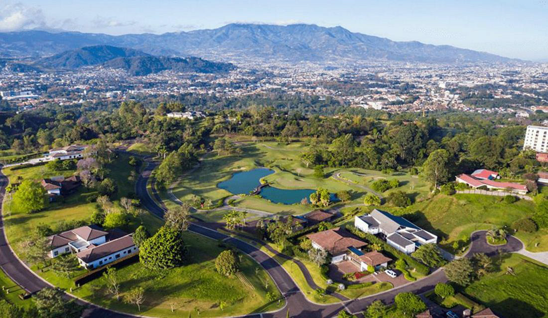 2 Adjoining Lots, Over 1 Acre, for Sale in Monteran Golf Community, Curridabat