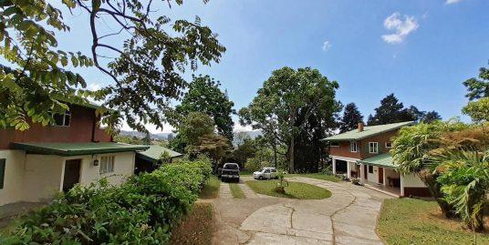 Spectacular 5-Acre Estate for Sale, 2 Houses, Forest, Views, San Ramon de Tres Rios