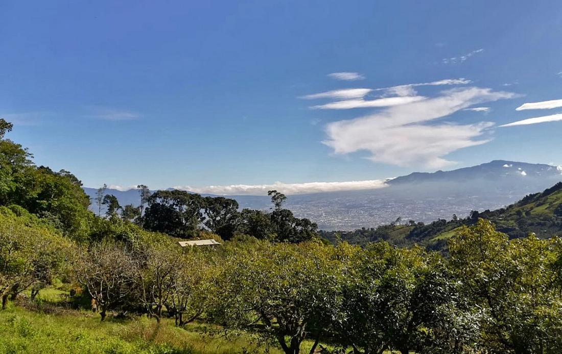 Nature Retreat-Farm with Amazing Views for Sale in the Hills of Escazu