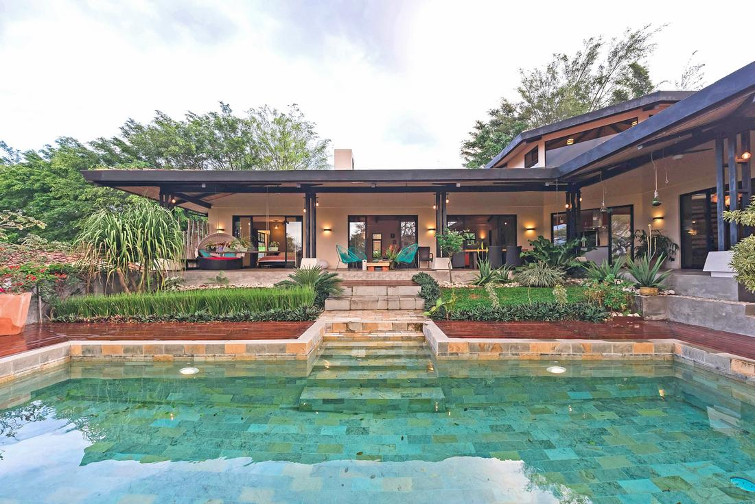Stunning Luxury Villa with Pool and Views for Sale on Half Acre, Santa Ana