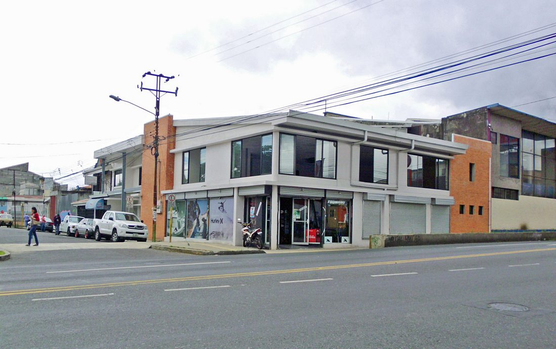 8900-ft2 Corner Commercial Building for Sale, Avenida Central, San Pedro, Montes de Oca